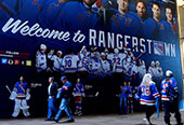 Rangers 2015 Playoffs Wall Mural