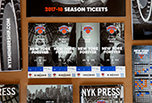 New York Knicks 2017-18 Season Tickets