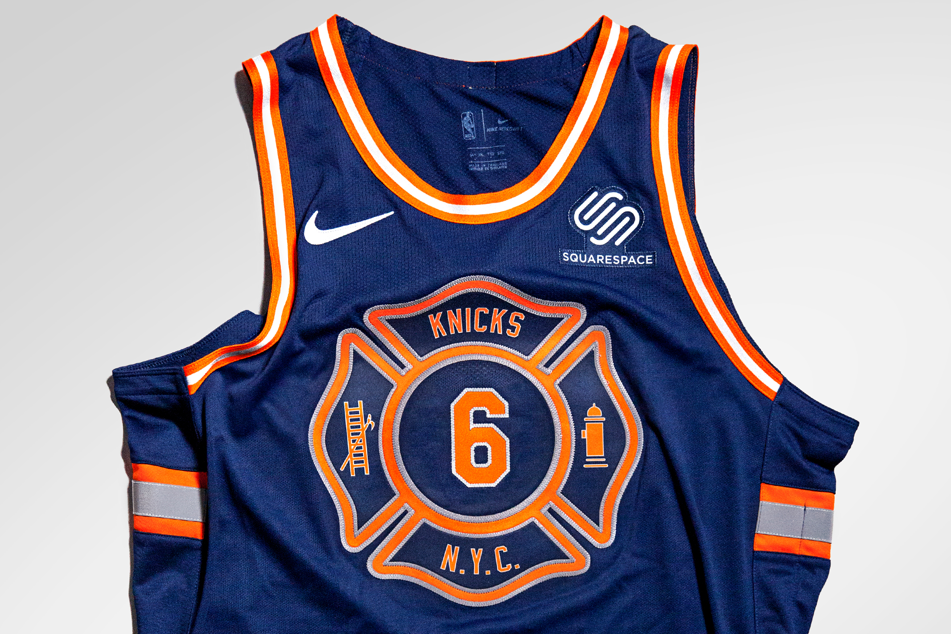 Tarek Awad Knicks X Nike Fdny City Edition Uniform